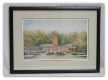 "LORRAINE BREWER FRAMED PRINT "" THE CLINCHFIELD RAILROAD STATION """