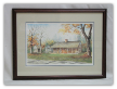 "LORRAINE BREWER FRAMED PRINT "" THE EXCHANGE PLACE """