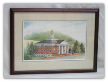 "LORRAINE BREWER FRAMED PRINT "" SULLIVAN COUNTY COURTHOUSE """