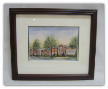 "LORRAINE BREWER FRAMED PRINT "" THE KINGSPORT INN "" (SMALL)"