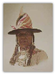 "JAMES BAMA LIMITED EDITION PRINT "" INDIAN AT CROW FAIR """