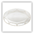 JULISKA BERRIES & THREAD LARGE OVAL PLATTER