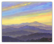 "JEFF PITTMAN "" MISTY RIDGES "" LIMITED EDITION PRINT"