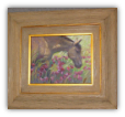 """HORSE WITH FLOWERS"" BY V. VAUGHAN FRAMED"