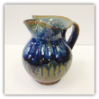 "RAY POTTERY PITCHER ""PEACOCK"""