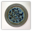 "RAY POTTERY  PEACOCK "" SALAD PLATE """