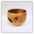 "BOB SCHRADER "" CURLY MAPLE BOWL """