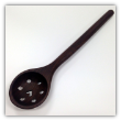 TREENWARE HEART STRAINING SPOON