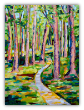"LARRY SMITH "" CEZANNE'S TRAIL "" ORIGINAL OIL ON CANVAS"