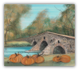 "P. BUCKLEY MOSS GICLEE "" CONEWAGO CREEK'S HUMPBACK BRIDGE """