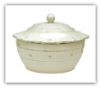 JULISKA BERRIES & THREAD LARGE ROUND COVERED CASSEROLE