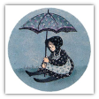 "P. BUCKLEY MOSS PRINT "" LET IT RAIN """