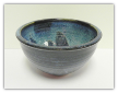 KIMBERLY GREY POTTERY SMALL SERVING BOWL