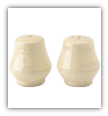 BUTTER CREAM SALT AND PEPPER SHAKERS