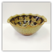 "RAY POTTERY "" LARGE FLUTED MIXING BOWL """
