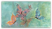 "P. BUCKLEY MOSS GICLEE "" BUTTERFLIES "" (SMALL)"