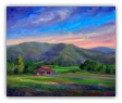 "JEFF PITTMAN "" AFTERNOON AT CLAXTON FARMS "" ORIGINAL OIL ON CANVAS"