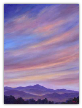 "JEFF PITTMAN "" INDIGO SKY "" ORIGINAL OIL ON CANVAS"