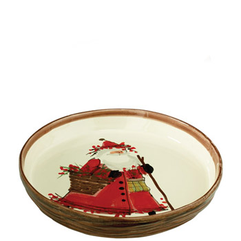VIETRI OLD ST. NICK ROUND BAKING DISH  sc 1 st  Up Against the Wall Gallery & VIETRI OLD ST. NICK DINNERWARE